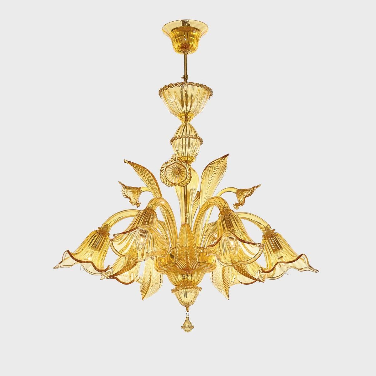 Lampadari in vetro di Murano: la loro realizzazione