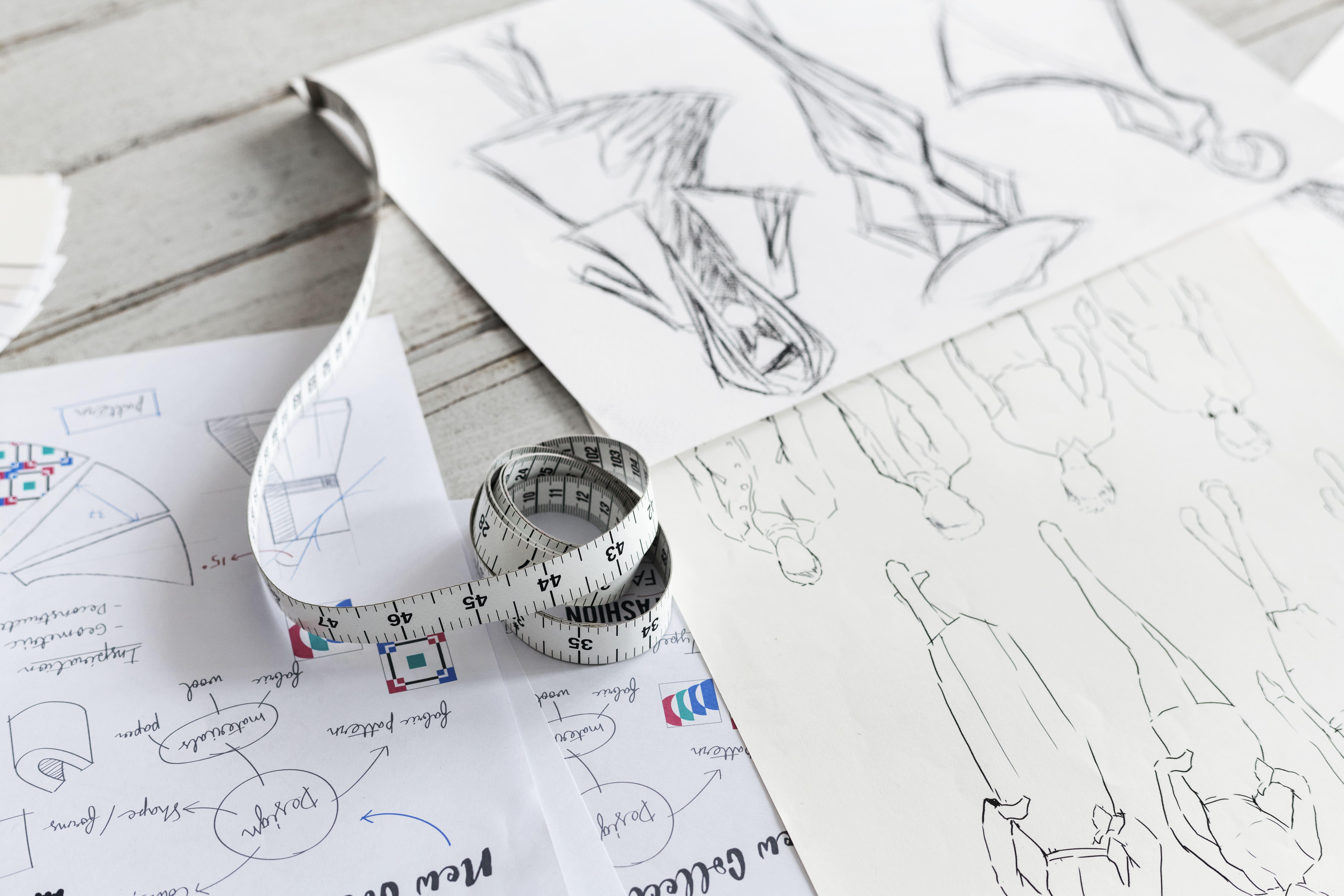 Studio modellistico: la creazione di abiti sartoriali