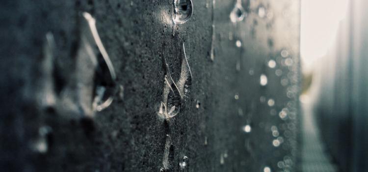 Infiltrazioni d'acqua: come rimediare?